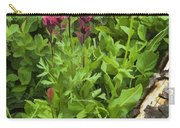 Magenta Paintbrush Carry-all Pouch