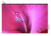 Magenta Splendor Gladiola Flower Carry-all Pouch