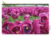Magenta Tulips Carry-all Pouch