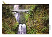 Magic At Multnomah Falls Carry-all Pouch