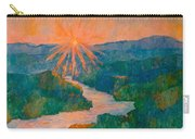 Magic Light At Carvins Cove Carry-all Pouch