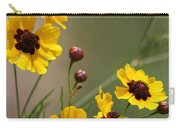 Magical Coreopsis Tinctoria Wildflowers Carry-all Pouch