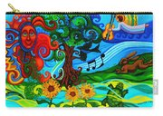 Magical Earth II Carry-all Pouch by Genevieve Esson