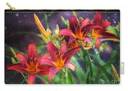 Magical Evening Daylilies Carry-all Pouch