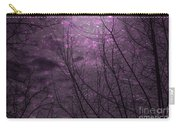 Magically Violet Night Sky Carry-all Pouch
