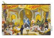 Magician Poster, C1895 Carry-all Pouch