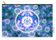 Magnetic Fluid Harmony Banner Carry-all Pouch
