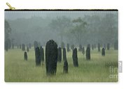 Magnetic Termite Mounds Carry-all Pouch by Bob Christopher