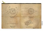 Magneto System Blueprint Carry-all Pouch