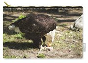 Magnificent Bald Eagle Breakfast Carry-all Pouch