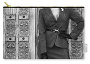 Magnificent Obsession Bw Palm Springs Carry-all Pouch