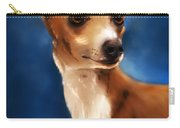 Magnifico - Italian Greyhound Carry-all Pouch by Michelle Wrighton