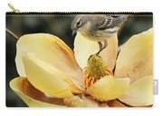 Magnolia And Warbler Photo Carry-all Pouch