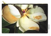Magnolia Blossom In All Its Glory - Keep Love In Your Heart Carry-all Pouch
