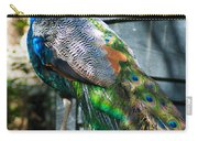 Magnolia Gardens Peacock Carry-all Pouch