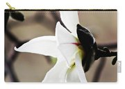 Magnolia In Profile Carry-all Pouch