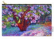 Magnolia Melody Carry-all Pouch by Jane Small
