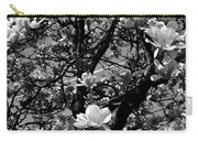 Magnolias In White Carry-all Pouch