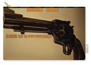 Magnum Force Custom Carry-all Pouch by Movie Poster Prints