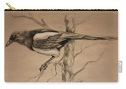 Magpie Sketch Carry-all Pouch