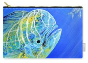 Mahi Mahi And Flying Fish Carry-all Pouch