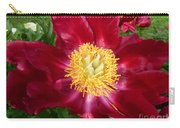 Mahogany Peony Carry-all Pouch by Lingfai Leung