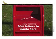 Mail Letters To Santa Here Carry-all Pouch