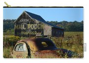 Mail Pouch Barn And Old Cars Carry-all Pouch
