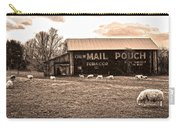 Mail Pouch Tobacco Barn And Sheep Carry-all Pouch