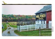 Mail Pouch Tobacco Barn In The Fall Carry-all Pouch
