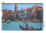 Main Canal Venice Italy Carry-all Pouch