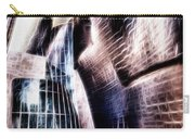 Main Entrance Of Guggenheim Bilbao Museum In The Basque Country Fractal Carry-all Pouch