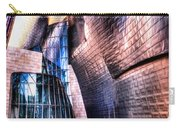 Main Entrance Of Guggenheim Bilbao Museum In The Basque Country Spain Carry-all Pouch