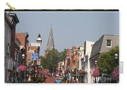 Main Street In Downtown Annapolis Carry-all Pouch