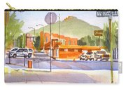 Main Street In Morning Shadows Carry-all Pouch