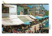 Main Street Marketplace In Tachilek-burma Carry-all Pouch