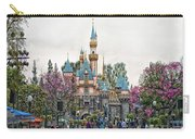 Main Street Sleeping Beauty Castle Disneyland 01 Carry-all Pouch