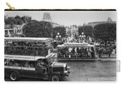 Main Street Transportation Disneyland Bw Carry-all Pouch