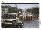 Main Street Transportation Disneyland Carry-all Pouch