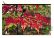 maine 37 Maple Leaf Fall Foliage Carry-all Pouch