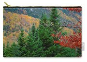 maine 57 Baxter State Park Loop Road Fall Foliage Carry-all Pouch