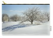 Maine Apple Trees Covered In Ice And Snow Carry-all Pouch