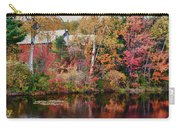 Maine Barn Through The Trees Carry-all Pouch by Jeff Folger