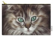 Maine Coon Carry-all Pouch by Tobiasz Stefaniak