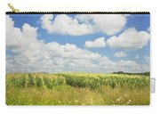 Maine Corn Field In Summer Photo Print Carry-all Pouch