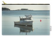 Maine Lobster Boats In Winter Carry-all Pouch