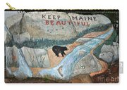 Maine Rock Painting Carry-all Pouch