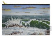 Crashing Waves At Pemaquid Point Maine Carry-all Pouch