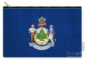 Maine State Flag Carry-all Pouch