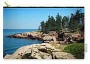 Maine's Rocky Coastline Carry-all Pouch